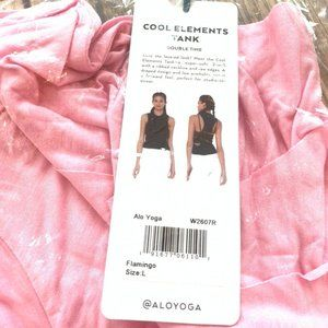 ALO Yoga Cool Elements Tank in Flamingo